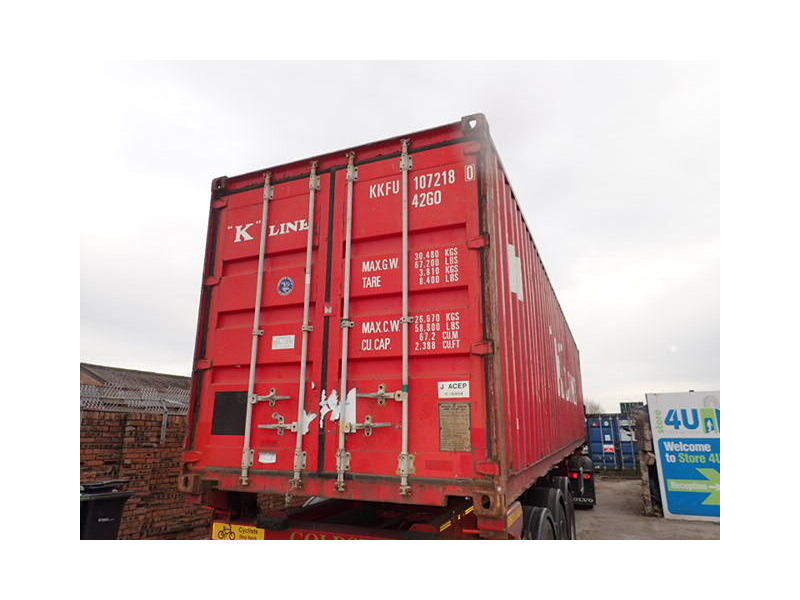 SHIPPING CONTAINERS 40ft ISO 27934 click to zoom image