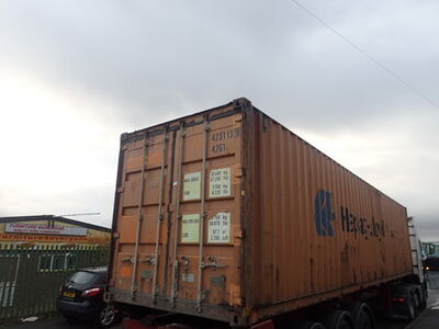 SHIPPING CONTAINERS 40ft original 38714