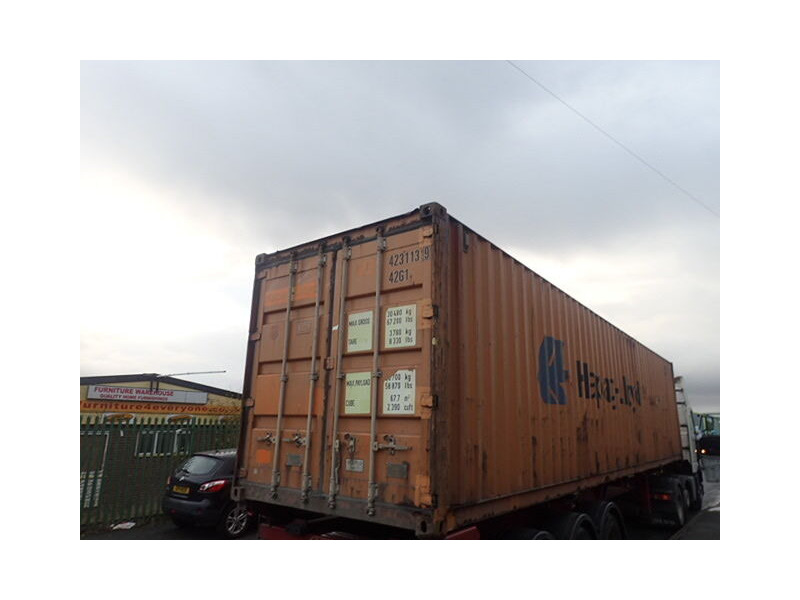 SHIPPING CONTAINERS 40ft original 67511 click to zoom image