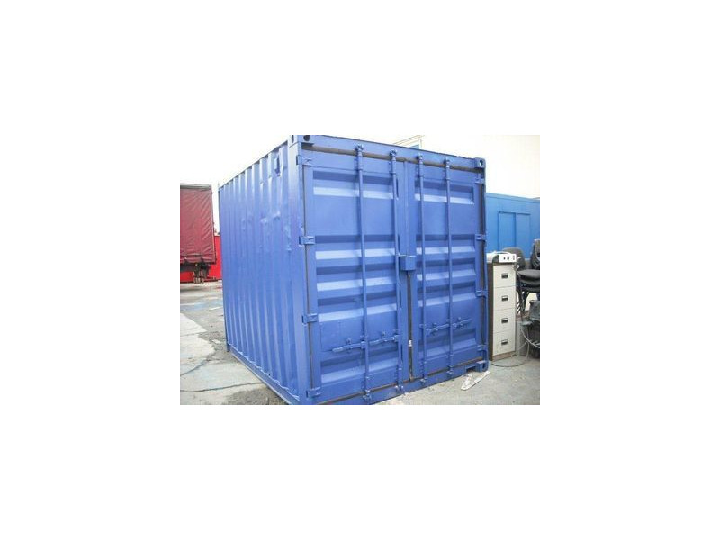SHIPPING CONTAINERS 12ft original doors 43863 click to zoom image