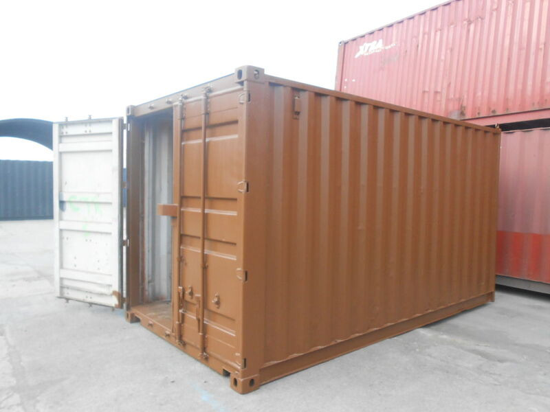 SHIPPING CONTAINERS 14ft S2 37521 click to zoom image
