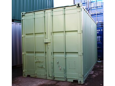 SHIPPING CONTAINERS 10ft S2 Doors 24903