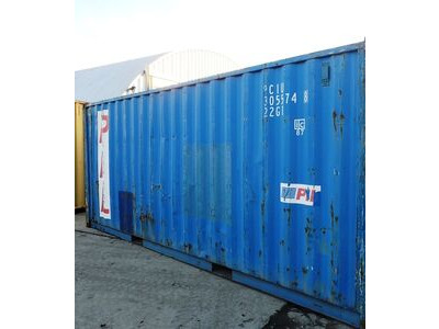 SHIPPING CONTAINERS 20ft ISO 44102 click to zoom image