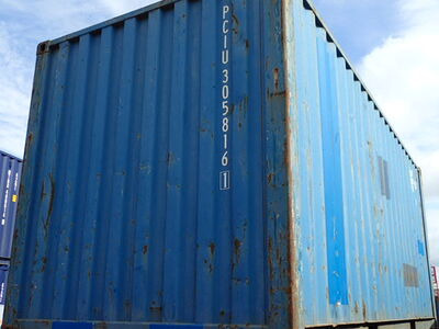 SHIPPING CONTAINERS 20ft original 42814 click to zoom image