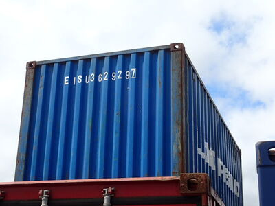 SHIPPING CONTAINERS 20ft ISO 65210 click to zoom image