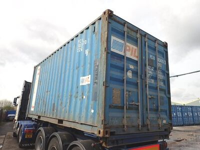 SHIPPING CONTAINERS 20ft ISO PCIU3034703 click to zoom image