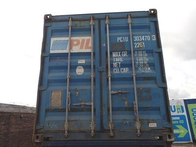 SHIPPING CONTAINERS 20ft ISO PCIU3034703