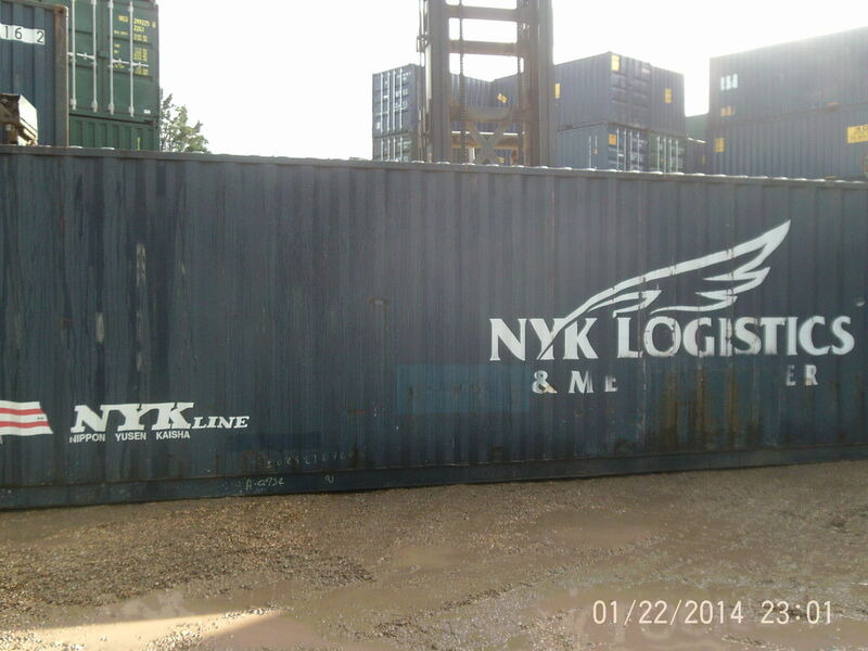 SHIPPING CONTAINERS 40ft ISO 66761 click to zoom image