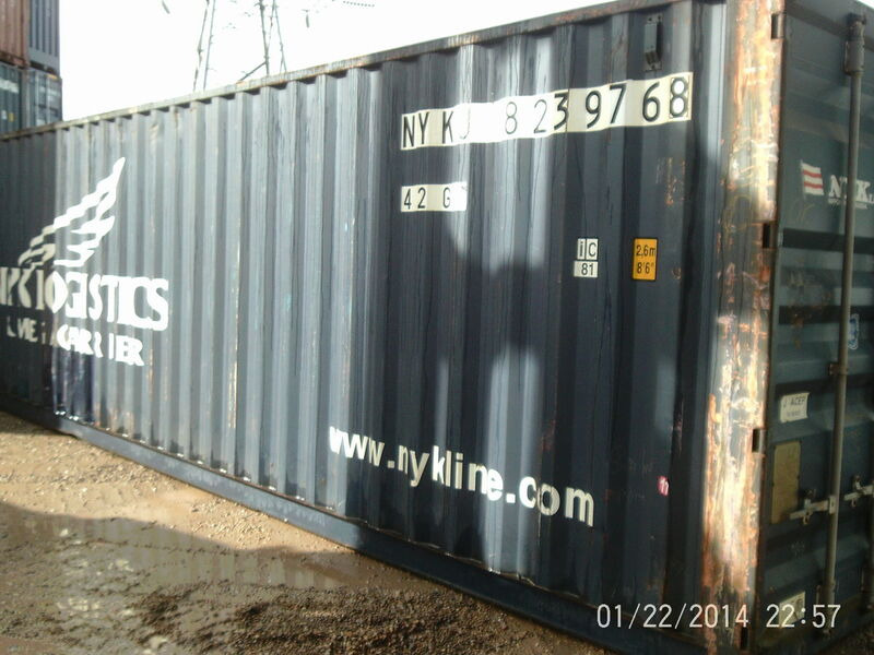 SHIPPING CONTAINERS 40ft ISO Southampton click to zoom image