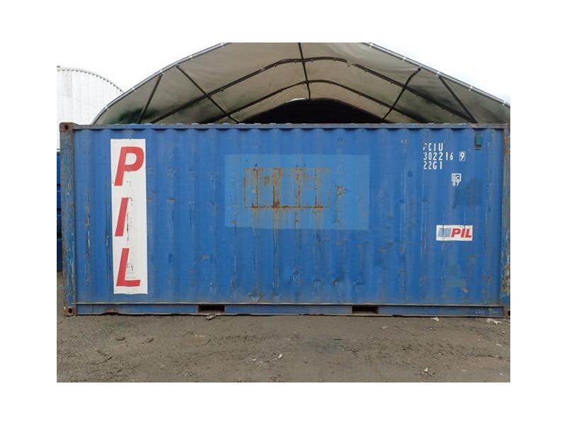 SHIPPING CONTAINERS 20ft ISO PCIU3022169 click to zoom image