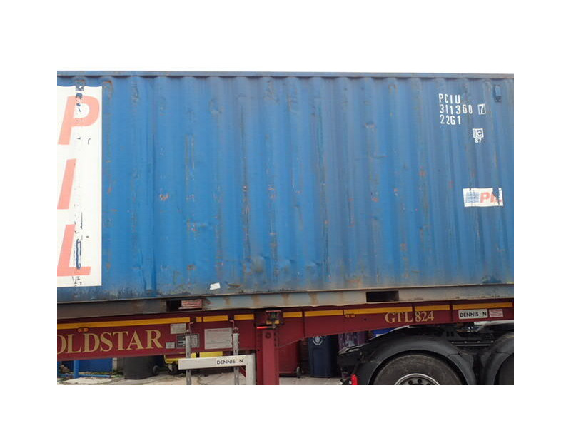 SHIPPING CONTAINERS 20ft ISO 44889 click to zoom image