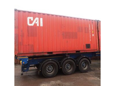 SHIPPING CONTAINERS 20ft S2 doors 46025 click to zoom image