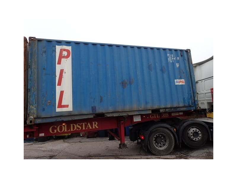 SHIPPING CONTAINERS 20ft S2 doors 64770 click to zoom image