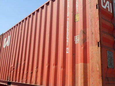 SHIPPING CONTAINERS 20ft ISO 46021 click to zoom image