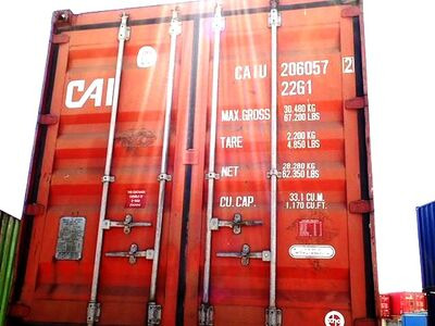SHIPPING CONTAINERS 20ft ISO 46021