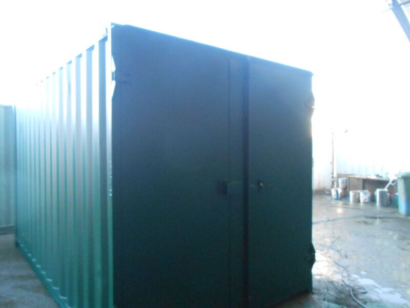 SHIPPING CONTAINERS 13ft S1 doors click to zoom image