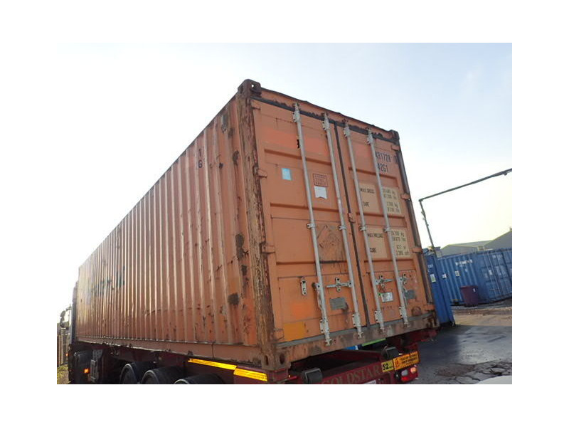 SHIPPING CONTAINERS 40ft original container 65408 click to zoom image