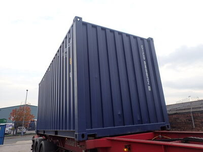 SHIPPING CONTAINERS 20ft ISO 67486 click to zoom image