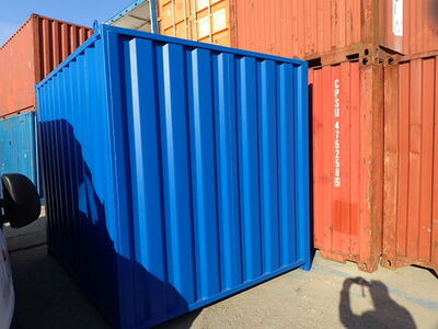 SHIPPING CONTAINERS 10ft S2 blue CO100002 click to zoom image