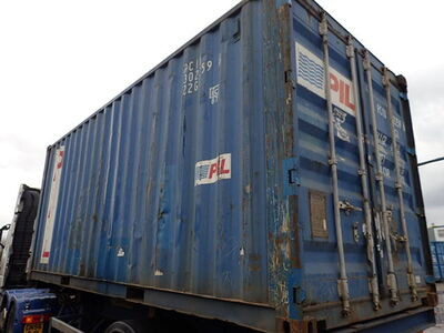 SHIPPING CONTAINERS 20ft ISO PCIU3022596 click to zoom image