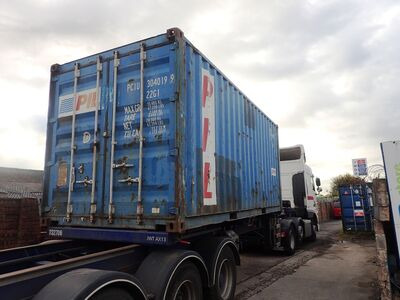 SHIPPING CONTAINERS 20ft original 42811