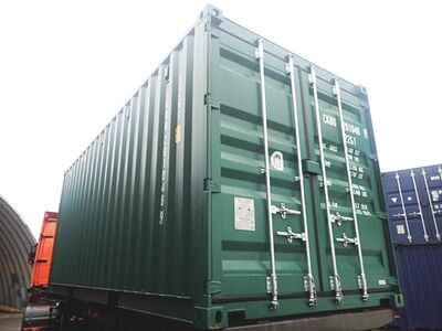 SHIPPING CONTAINERS 20ft ISO 43766 click to zoom image