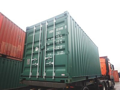 SHIPPING CONTAINERS 20ft ISO 43766