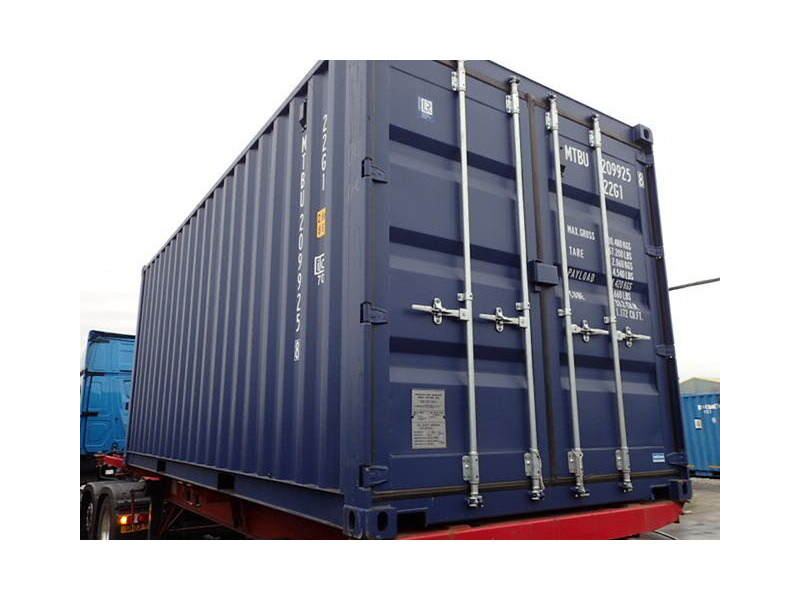 SHIPPING CONTAINERS 20ft ISO blue MTBU2099258 click to zoom image