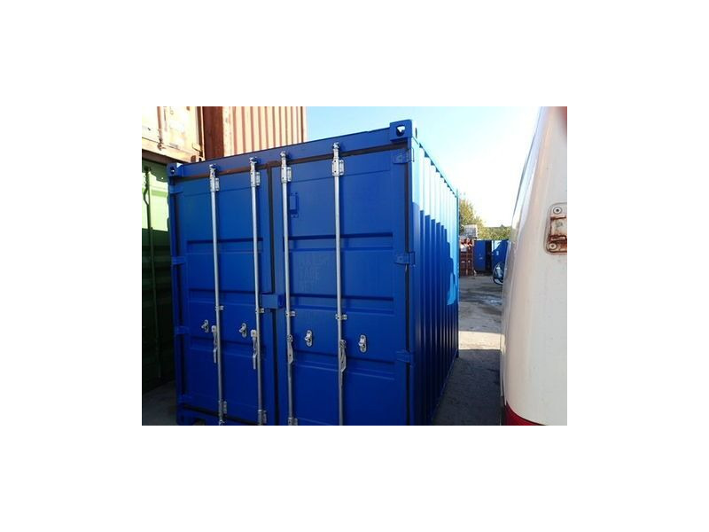 SHIPPING CONTAINERS 10ft S2 doors 28210 click to zoom image
