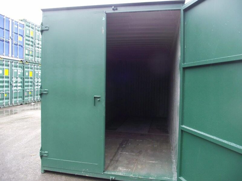 SHIPPING CONTAINERS 6ft x 8ft S1 doors click to zoom image
