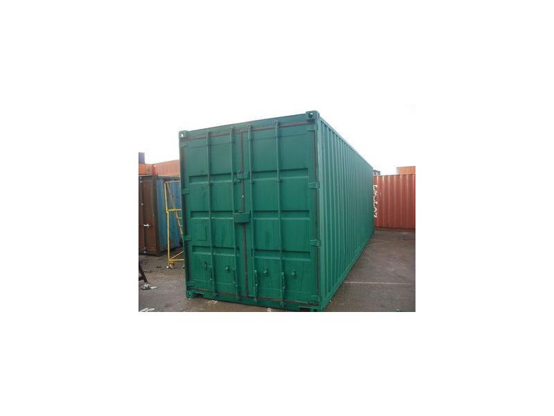 SHIPPING CONTAINERS 30ft high cube - S2 doors click to zoom image