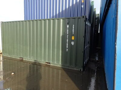 SHIPPING CONTAINERS 20ft Green 67646
