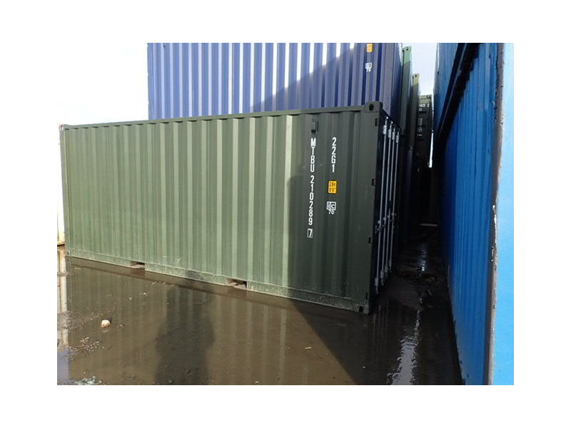 SHIPPING CONTAINERS 20ft Green 67646 click to zoom image