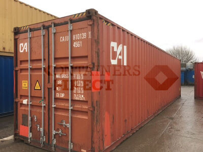 SHIPPING CONTAINERS 40ft ISO 46167