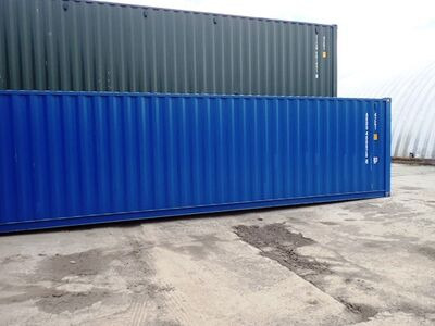 SHIPPING CONTAINERS 40ft original 55788 click to zoom image