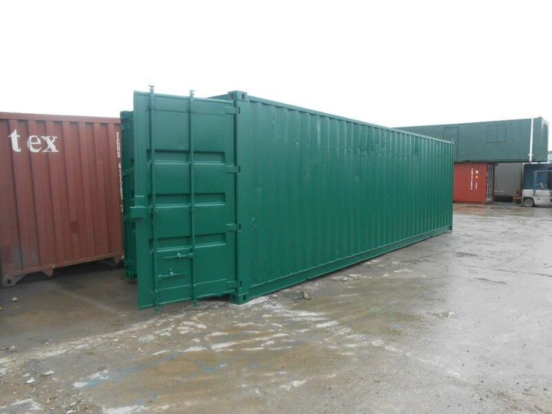 SHIPPING CONTAINERS 32ft with original doors 33573 click to zoom image