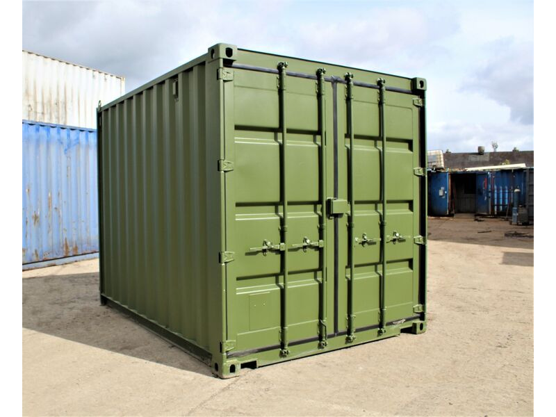 SHIPPING CONTAINERS 10ft Shipping Container S2 click to zoom image