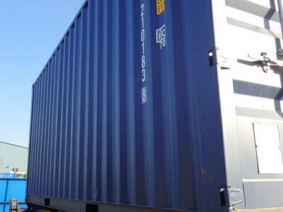 SHIPPING CONTAINERS 20ft ISO green MTBU2101838 click to zoom image
