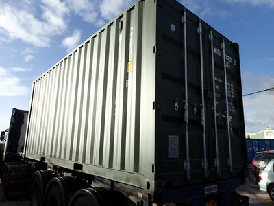 SHIPPING CONTAINERS 20ft ISO green MTBU102259 click to zoom image