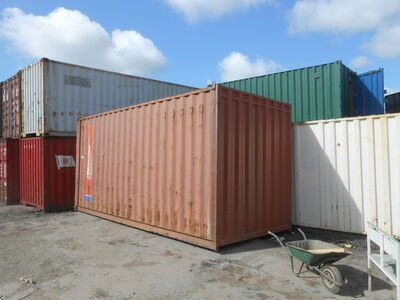 SHIPPING CONTAINERS 20ft S2 doors high cube click to zoom image