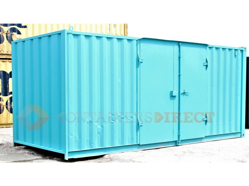 SHIPPING CONTAINERS 24ft S1 side doors 32531 click to zoom image