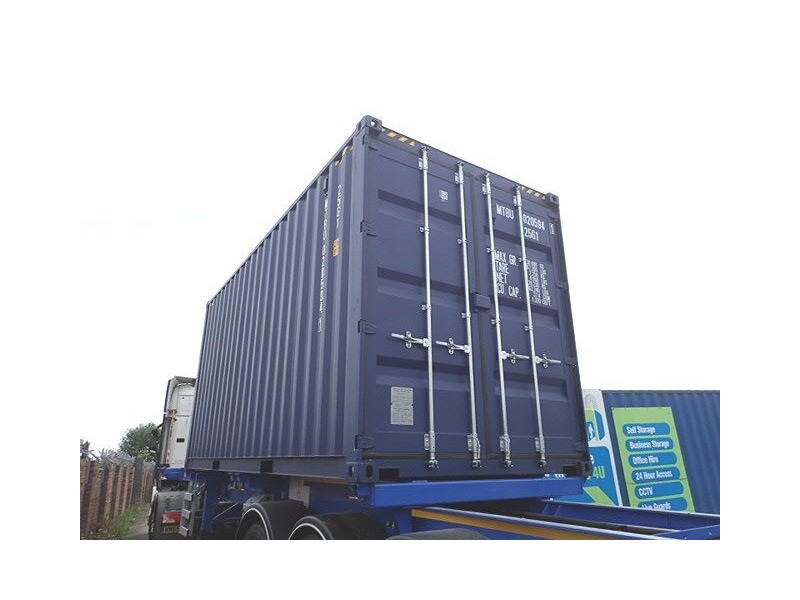 SHIPPING CONTAINERS 20ft high cube, blue MTBU0205941 click to zoom image