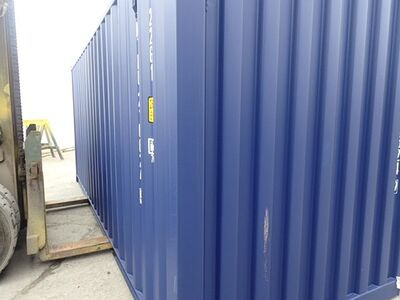 SHIPPING CONTAINERS 20ft ISO blue MTBU2106249 click to zoom image