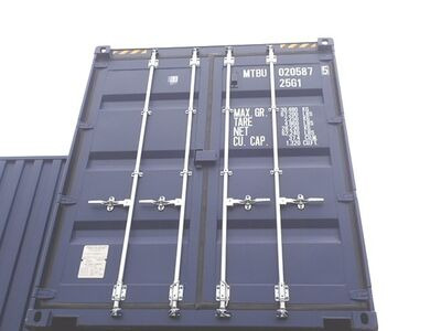 SHIPPING CONTAINERS 20ft ISO high cube, blue MTBU0205875