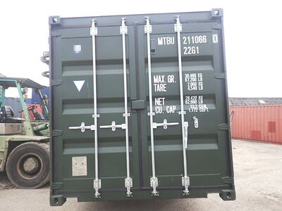 SHIPPING CONTAINERS 20ft ISO green MTBU2110660