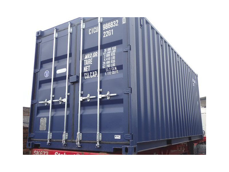 SHIPPING CONTAINERS 20ft ISO 67487 click to zoom image