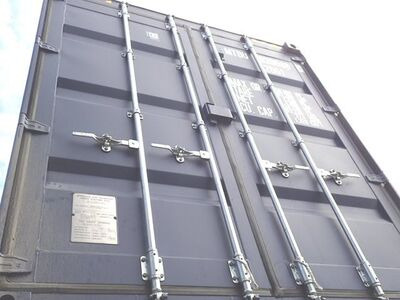 SHIPPING CONTAINERS 20ft high cube, blue MTBU0205860