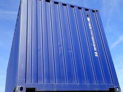 SHIPPING CONTAINERS 20ft ISO blue MTBU2103492 click to zoom image