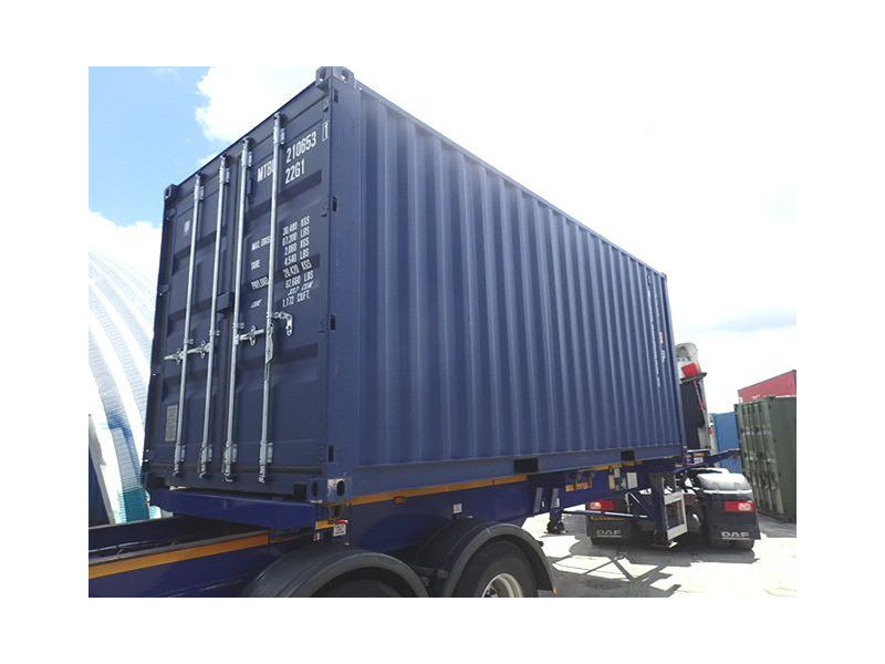 SHIPPING CONTAINERS 20ft ISO blue MTBU2106531 click to zoom image