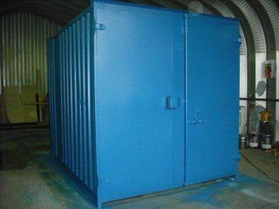 SHIPPING CONTAINERS 9ft S1 doors